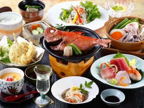 小金目鯛付きのご夕食(イメージ)