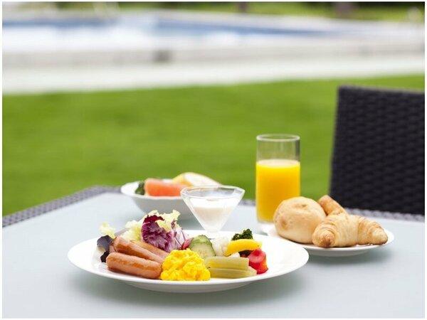 ガーデンで朝食を(イメージ)