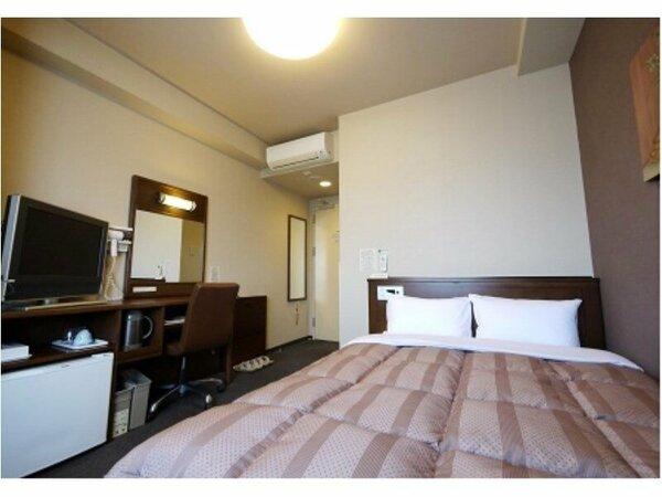 【セミダブルルーム】全室無料Wi-Fi&加湿機能付空気清浄器完備