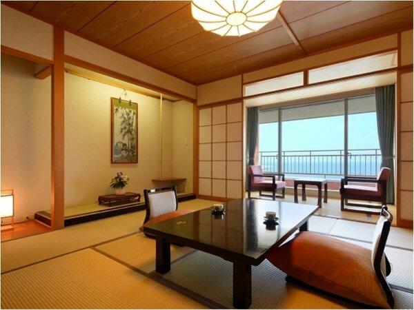 海側和室のお部屋の一例