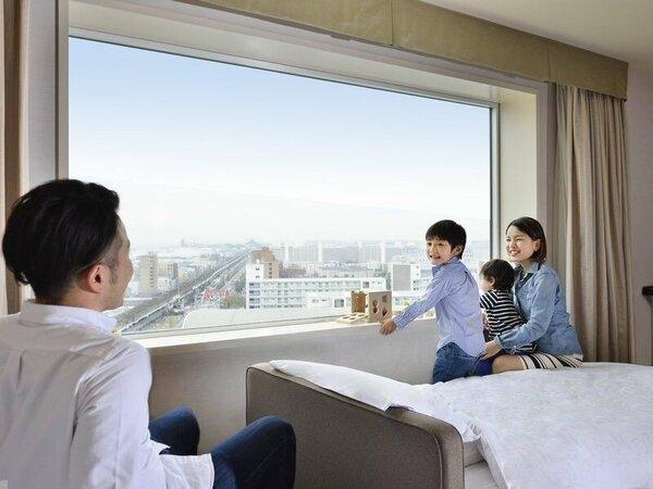 【Room Forest~mix style~】※眺望はお部屋により異なります。