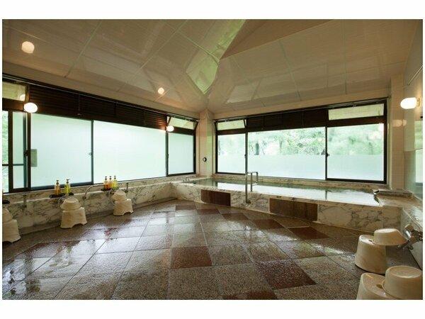 大浴場/男性(イメージ) 多摩川の清流を眺めながら足を伸ばして日頃の疲れを癒してください