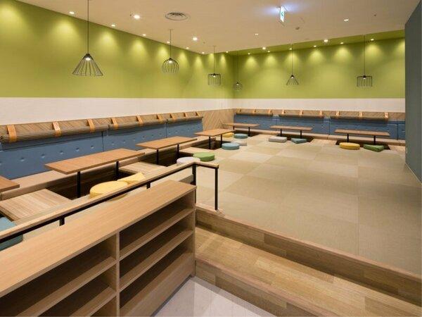 ◆朝食コーナー◆お座敷スペースもあります◎