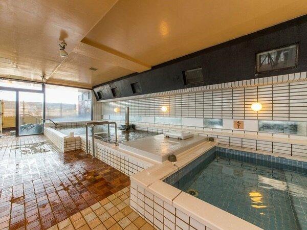 アパホテル<小松グランド>の大浴場 無料で入浴できます。