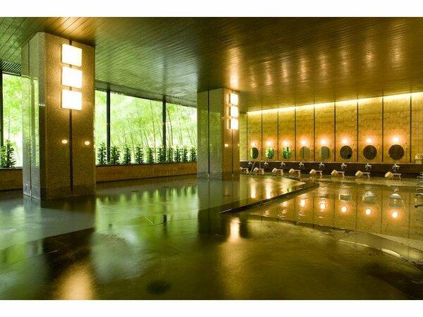ゆとりのスペース大浴場