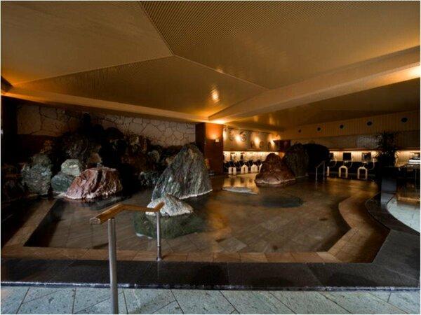 ■大浴場「滝見の湯屋」(内湯)