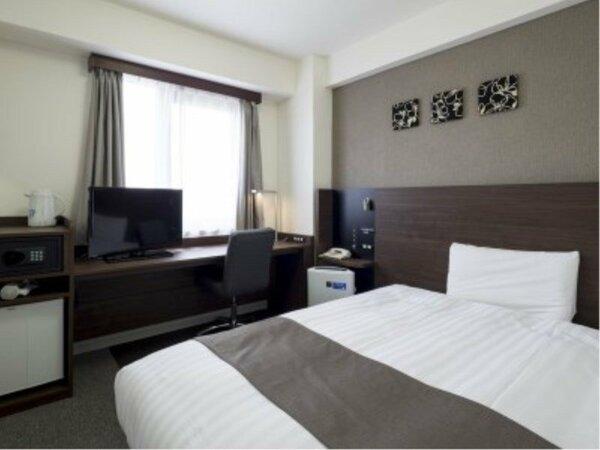 【シングルスタンダード】広さ14平米/ベッド幅123cm