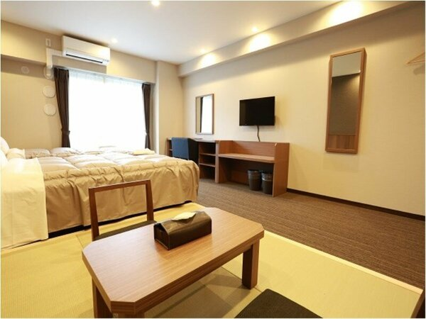 【35平米の和洋室】広々としたお部屋は、荷物整理も楽ちん!