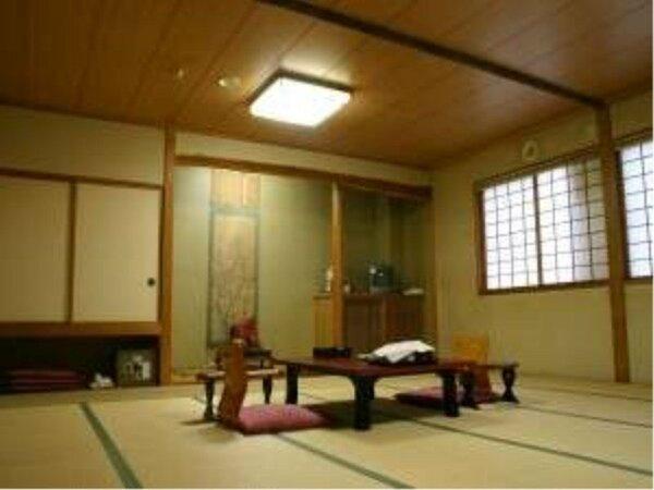 人数や構成に合わせて様々なお部屋をご用意しております。