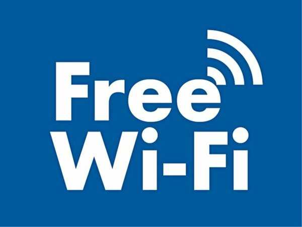 全客室でWiFiが使用できます。