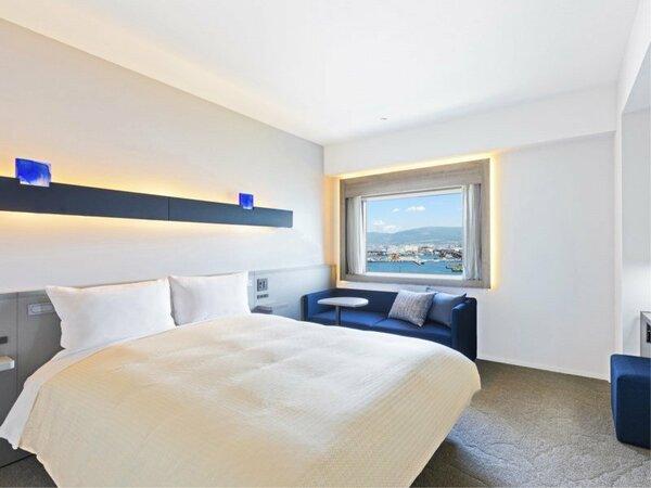 【客室】ダブル/20平米/スタイリッシュな空間で上質なホテルステイを。