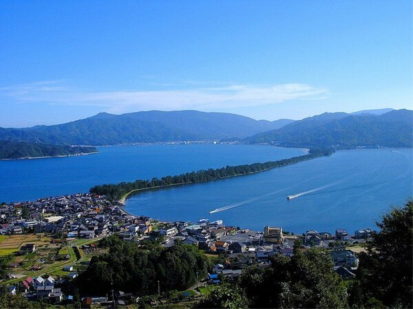日本三景「天橋立」(昇龍観)・・・傘松公園より