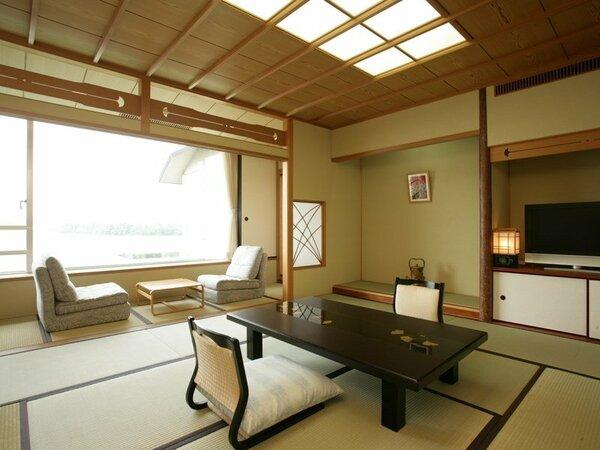 展望風呂付和室一例