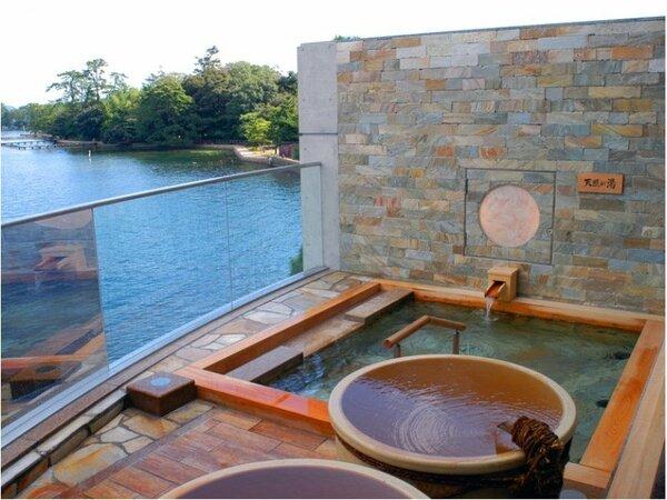 天然温泉大浴場露天風呂