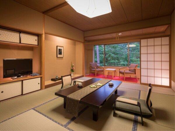 【標準和室12畳+踏込】ゆったりと落ち着く和室 ※客室例
