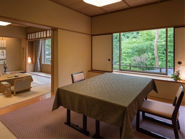 和洋室87平米【10畳+6畳+洋室ツイン】ゆとりの3間続きで贅沢な間取