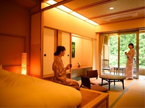 露天風呂付和洋室【2・3階】(禁煙)