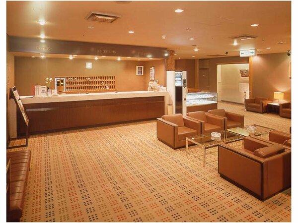 ホテルロビー:周辺観光地パンフレットコーナー、インターネット閲覧用パソコンなどを設置