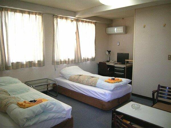 お部屋一例。人数によって割り振りさせていただきます。