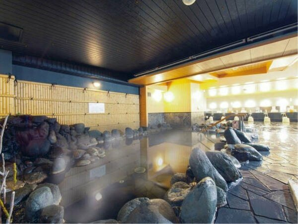 ☆駅前温泉「かしはらの湯」☆湯量たっぷり!のんびりリフレッシュ♪檜風呂と岩風呂は男女日替り☆