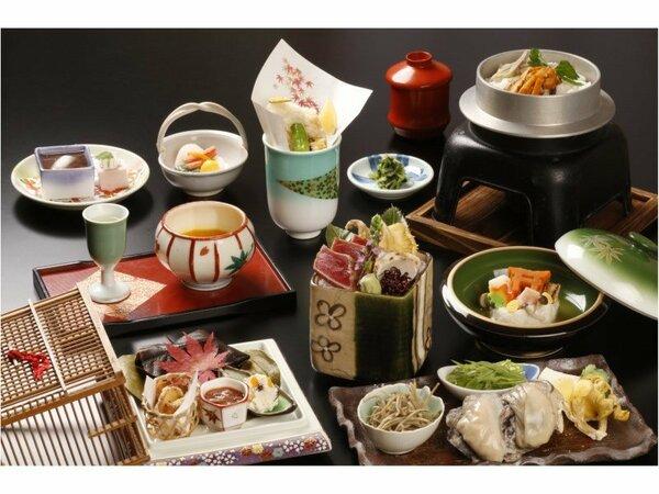 季節の食材を楽しむ 和食会席