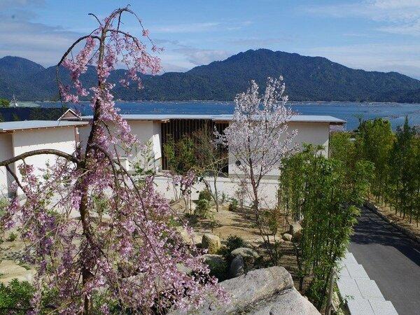 旅籠桜ではすべてのお部屋から宮島をご覧いただけます。景観を楽しみながらゆったりとお過ごしくださいませ