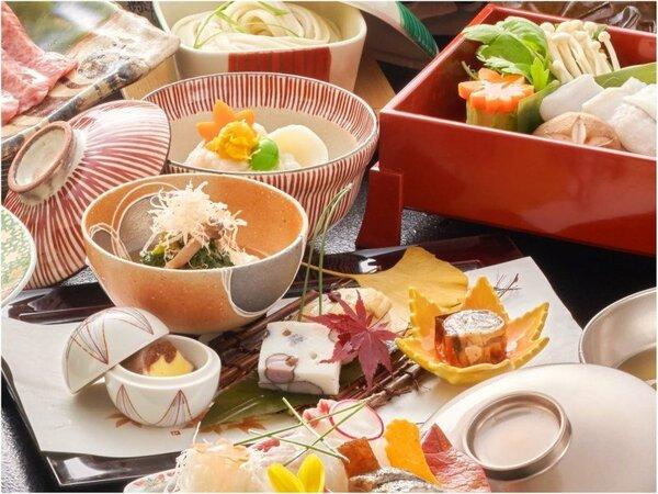 秋のスタンダード料理。彩も深く目にも楽しい。そして味わい深い内容です♪