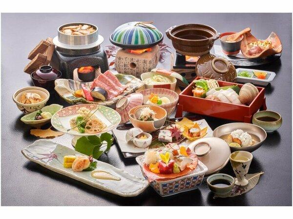秋のスタンダード料理。広島の味覚の穴子・牡蠣が存分に堪能できるメニューです♪