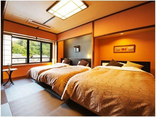"""■和楽-Waraku-■畳にベッドで""""ゆったり、ぐっすり♪""""当客室だからこその""""さわやかな目覚め""""を"""