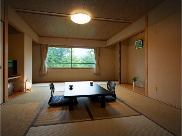 ゆとりと寛ぎの和室一例