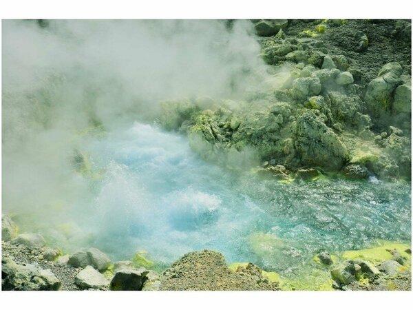 毎分9000リットルの湧出量があり大地のパワーを感じられます。