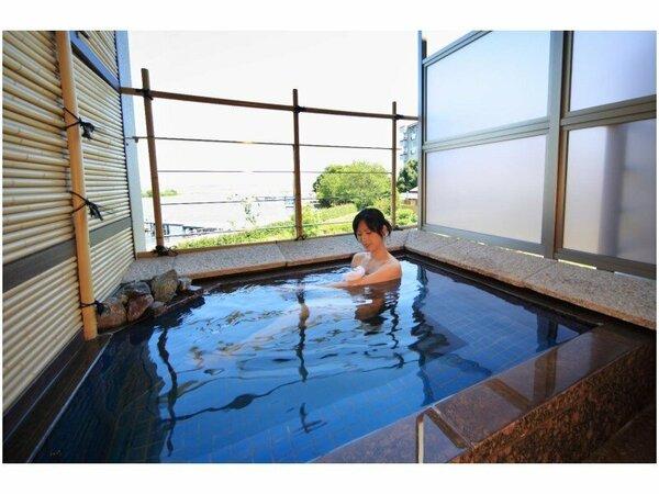 萬葉客室露天風呂