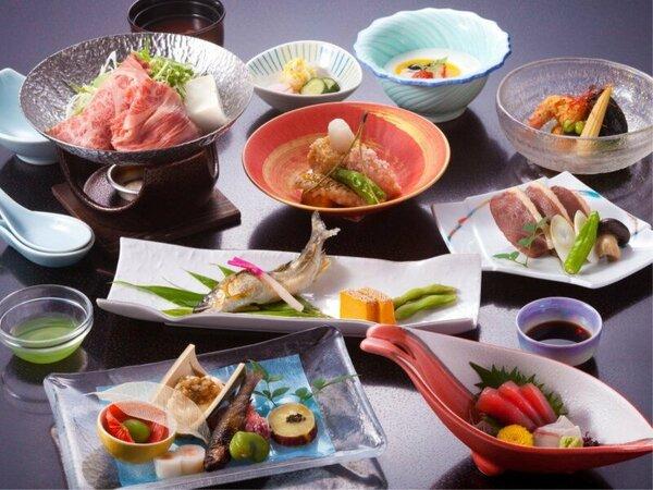 ★スタンダード料理★季節の旬な食材を使った約10品のオリジナル会席・料理イメージ