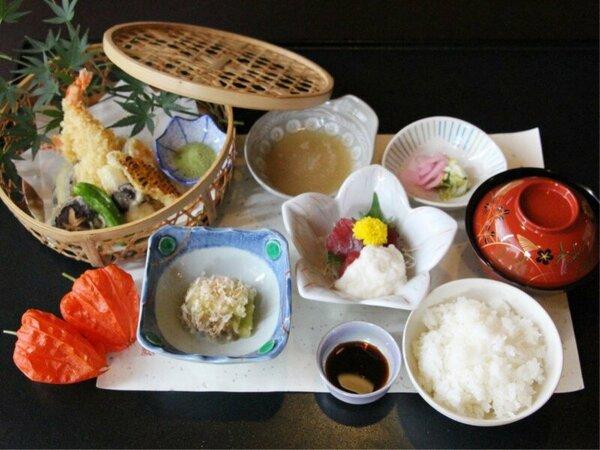 【ご夕食オプション】季節の天婦羅御膳≪朝食付きプラン用≫