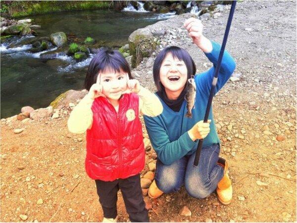 女性からお子様まで安全にお楽しみいただける釣りコースもあります♪