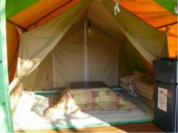 10月~4月ごろまで。テント内イメージです。