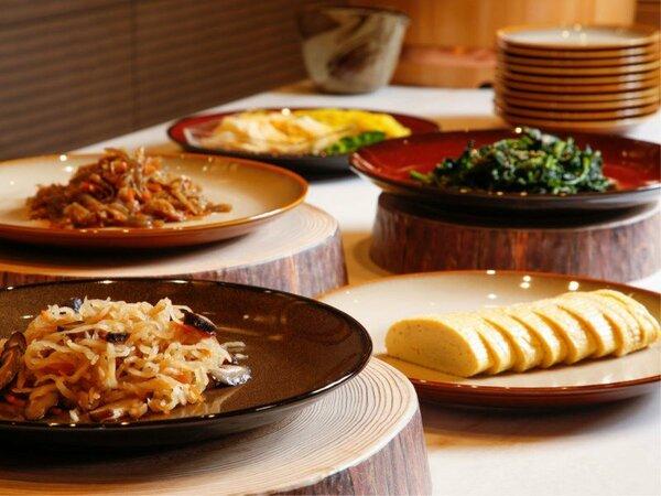 【朝食ブッフェ】多彩な料理のラインナップをお好きなだけ(イメージ)