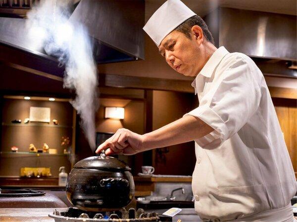 貴方の為だけの、その日限りの特別な【極みの一品】を。望みを叶える料理長の極上会席。