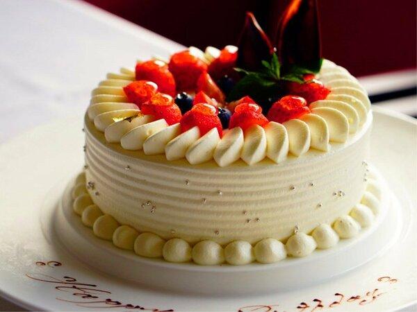 パティシエ特製ケーキでお祝いしませんか。(画像はイメージ)