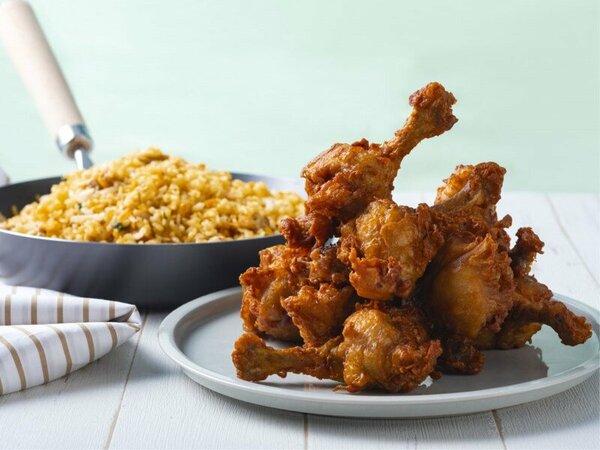 【夕食バイキング】鶏肉コーナー