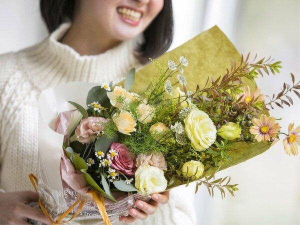贈り物用花束のご予約も承ります※イメージ