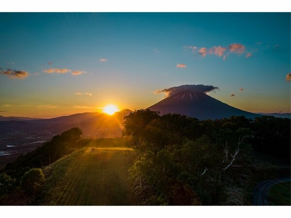 Sunrise Mt. Yotei