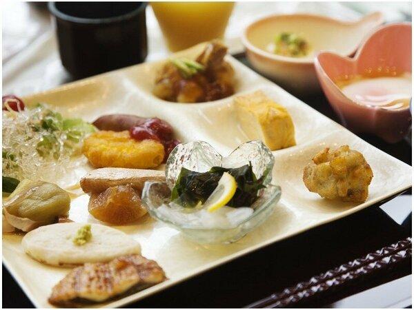 """【朝食】朝、いちばんの""""美味しい""""をお届け♪ビュッフェ形式なので<好きなものを好きなだけ>"""