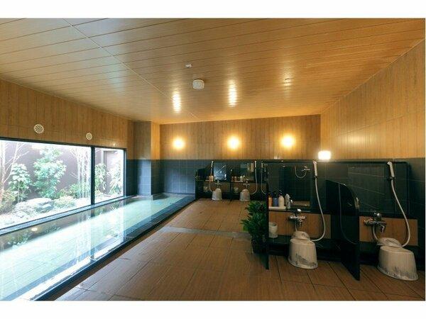 疲れをときほぐすラジウム人工温泉大浴場「旅人の湯」