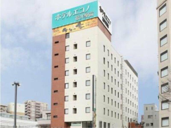 JR福井駅東口より徒歩1分!高速バス乗り場も目の前で移動にも便利♪種類豊富な無料朝食あり