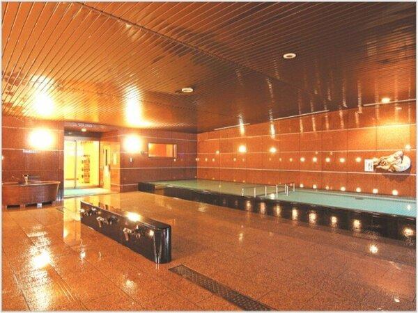 【3F 天然温泉大浴場】6:00-24:00(宿泊者専用時間帯23:00-24:00)