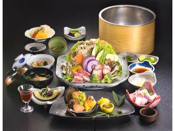 料理の一例(イメージ)創作懐石料理 旬菜・地の素材をふんだんに使い心に残る料理を手作りしてます。