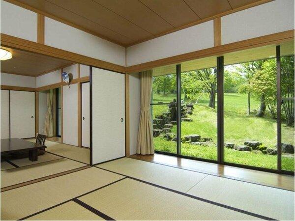 和室(70平米)10畳+8畳の二間続きのお部屋です。7名様迄ご宿泊いただけます