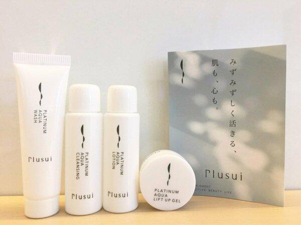 女性が喜ぶ高級アメ二ティ【Plusui】♪ お肌に優しく、保湿効果の高い化粧品です。