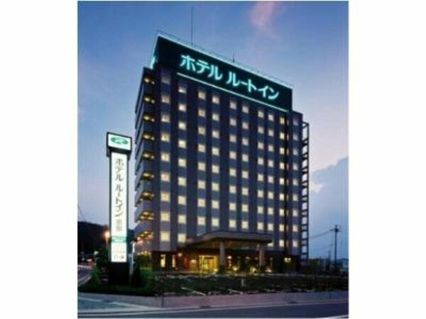 ホテル外観夕方のイメージ